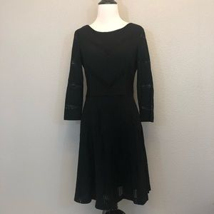 LC Lauren Conrad black A-Line dress size 8